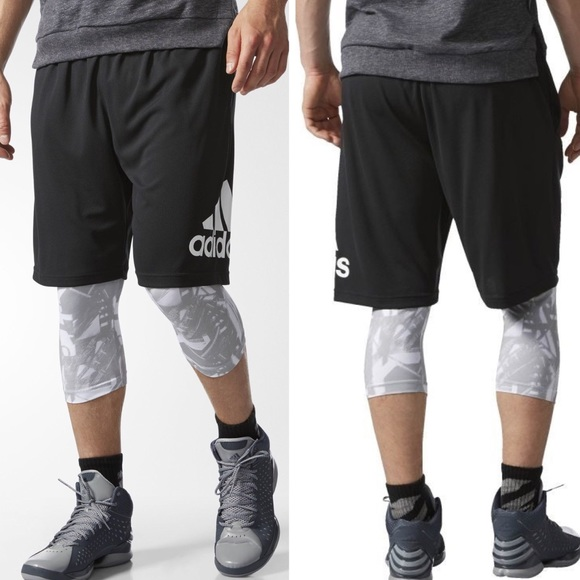 Men/'s Adidas Crazylight Big /& Tall Athletic Shorts NWT